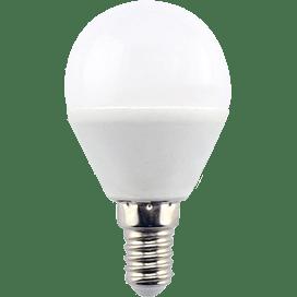 Ecola globe   LED  8,0W G45  220V E14 6000K шар (композит) 78×45