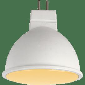 Ecola MR16 LED 7,0W 220V GU5.3 золотистая матовое стекло (композит) 48×50