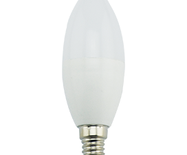 Ecola candle   LED Premium  9,0W 220V E14 4000K свеча (композит) 100×37