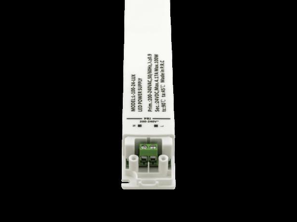 Блок питания для светодиодной ленты LUX сверхтонкий, 24В, 100Вт, IP20