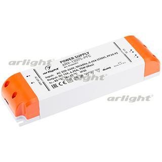 Блок питания ARV-12075-PFC (12V, 6.25A, 75W)
