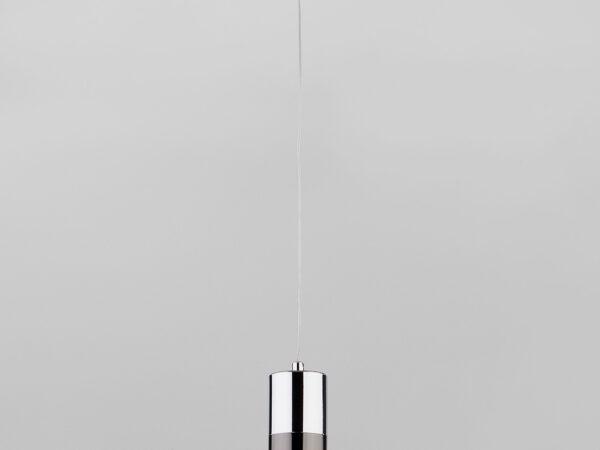 50146/1 / подвесной светильник хром/черный жемчуг