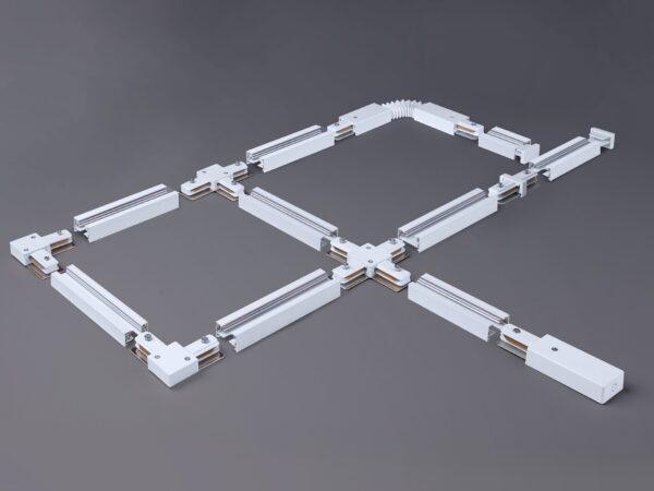 TRL-1-1-300-WH / Шинопровод электрический  для светильников Однофазный шинопровод белый (3м.)
