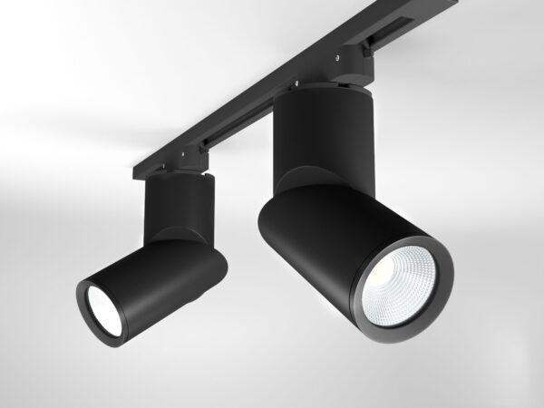 LTB33 / Светильник потолочный светодиодный Corner Черный 15W 4200K