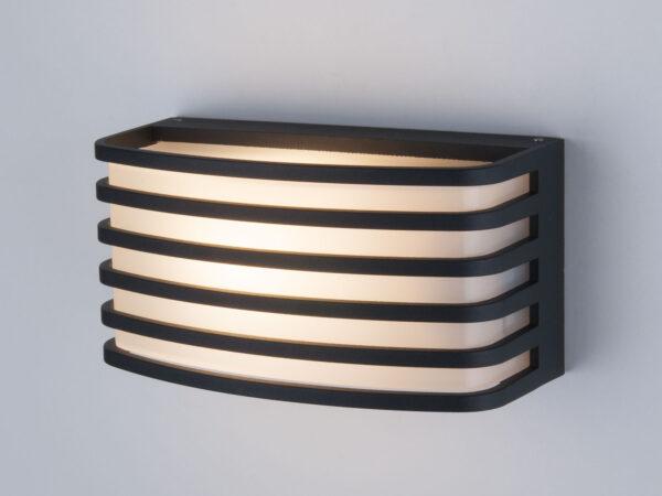 1409 TECHNO / Светильник садово-парковый черный