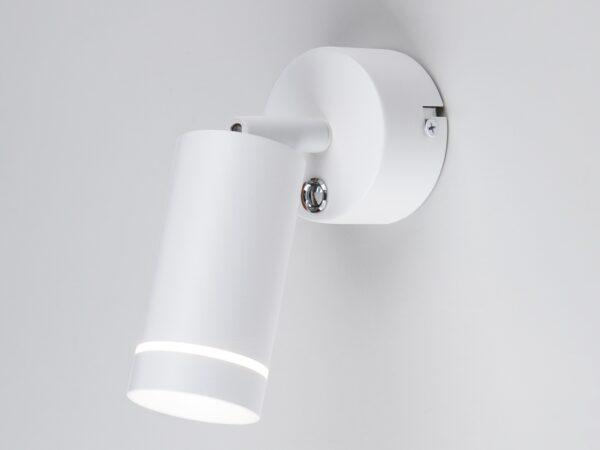 MRL LED 1005 / Светильник настенный светодиодный Glory SW белый