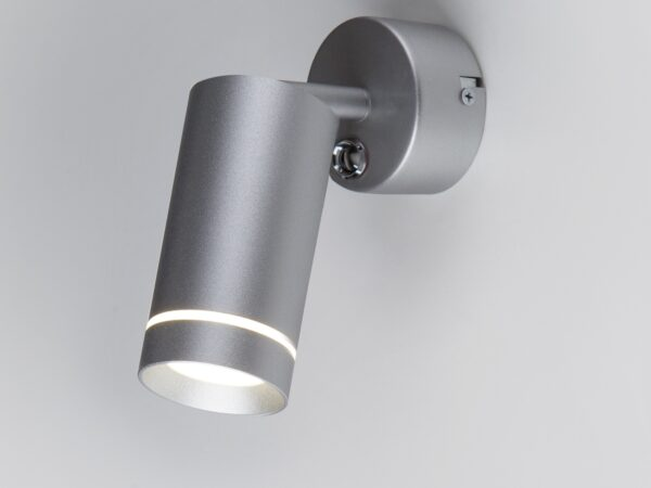 MRL LED 1005 / Светильник настенный светодиодный Glory SW серебро