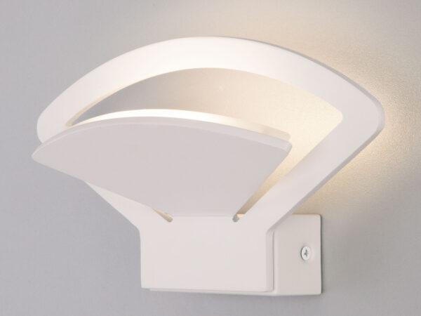 MRL LED 1009 / Светильник настенный светодиодный Pavo белый