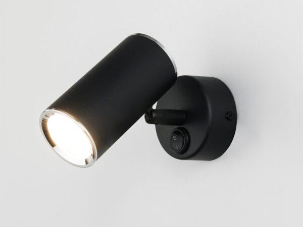 MRL 1003 / Светильник настенный Rutero GU10 SW черный