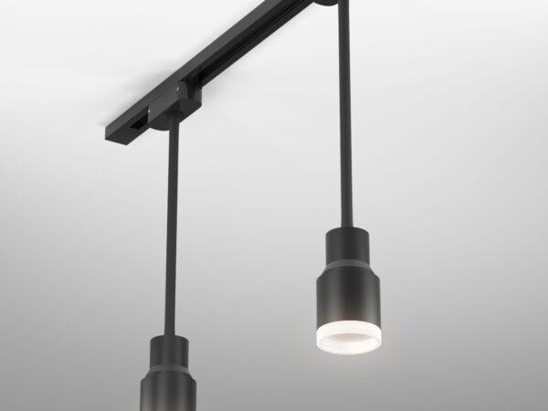 LTB38 / Светильник потолочный светодиодный Molly Flex Черный 7W 4200K