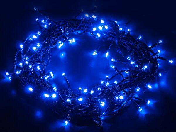 400-001 / гирлянда бытовая электрическая нить / голубой