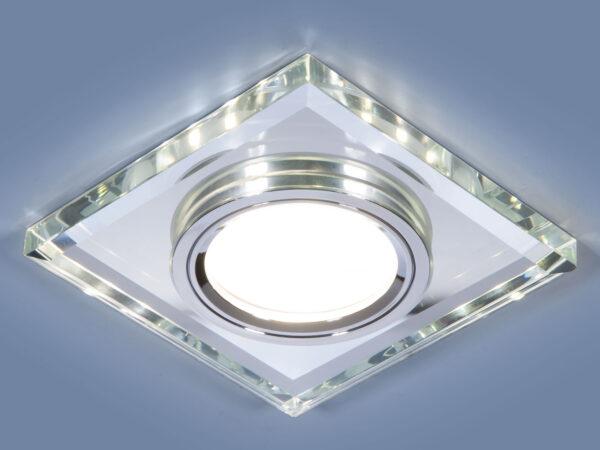 2229 MR16 / Светильник встраиваемый SL зеркальный/серебро (8170 MR16 SL)