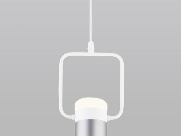 50165/1 LED / подвесной светильник / белый/серебро