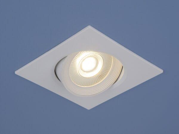 9915 LED / Светильник встраиваемый 6W WH белый