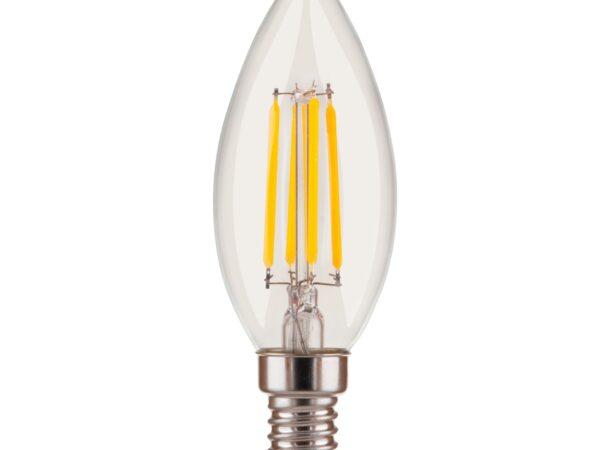 BL134/ Светодиодная лампа Dimmable 5W 4200K E14 (C35 прозрачный)