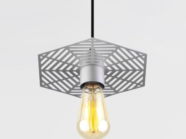50167/1 / подвесной светильник / серебряный