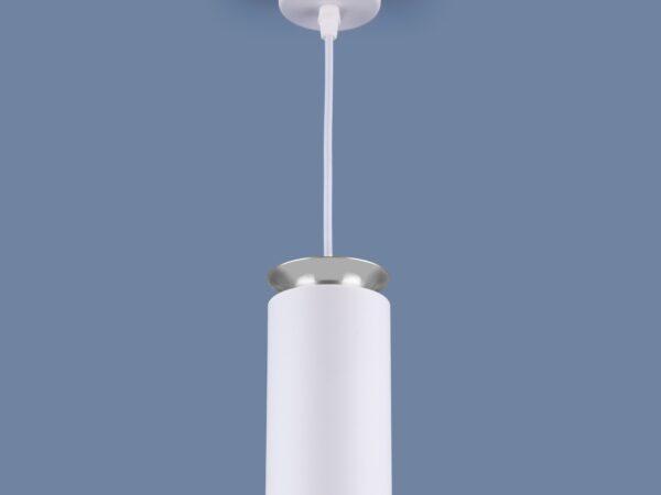 DLS021 9+4W 4200К / Светильник светодиодный стационарный белый матовый/серебро