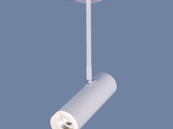 DLS022 9W 4200K / Светильник светодиодный стационарный белый матовый