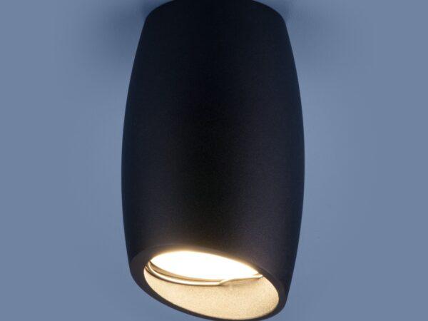 DLN002 MR16 / Светильник накладной BK черный