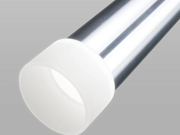 DLR038 7+1W 4200K / Светильник светодиодный стационарный хром