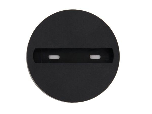 TRAF-1-BK / Разъем (коннектор) одноместный для однофазного трекового светильника черный