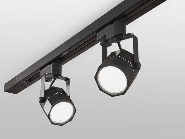 MRL 1004 / Светильник потолочный Robi Черный GU10