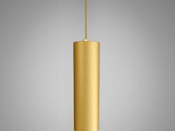 DLR023 12W 4200K / Светильник светодиодный стационарный золото матовый