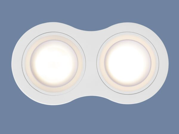 1081/2 / Светильник встраиваемый MR16 белый