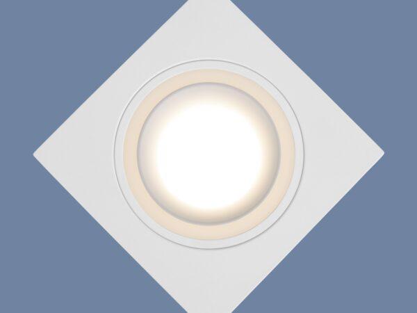 1091/1 / Светильник встраиваемый MR16 белый