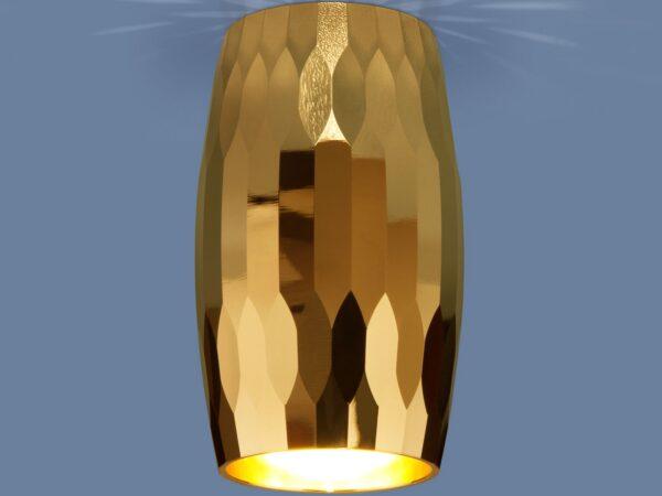 DLN104 GU10 / Светильник накладной золото