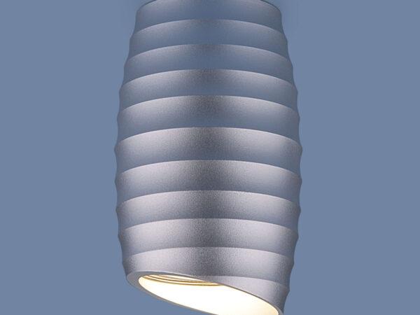 DLN105 GU10 / Светильник накладной серебро