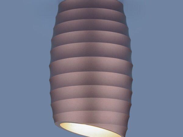 DLN105 GU10 / Светильник накладной коричневый