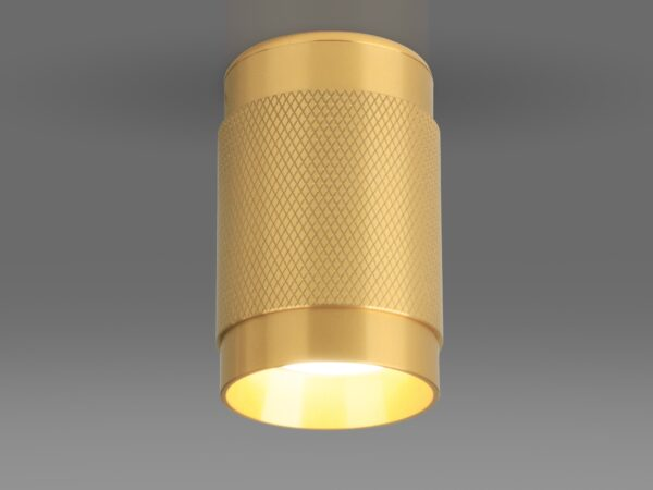 DLN109 GU10 / Светильник накладной золото