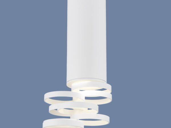DLN102 GU10 / Светильник накладной белый