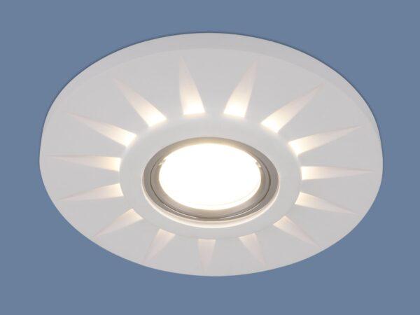 2243 MR16 / Светильник встраиваемый WH белый