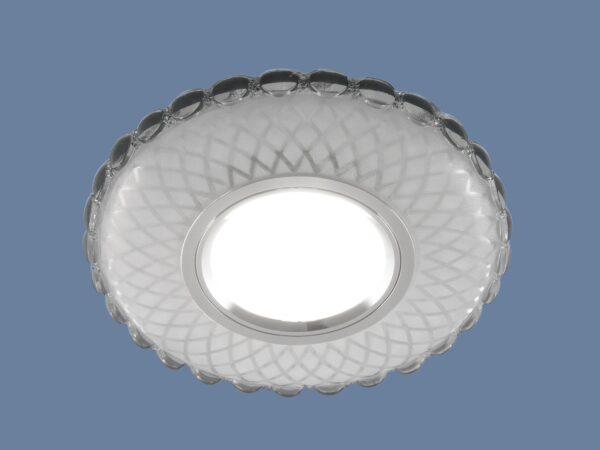 2244 MR16 / Светильник встраиваемый SL/WH зеркальный/белый