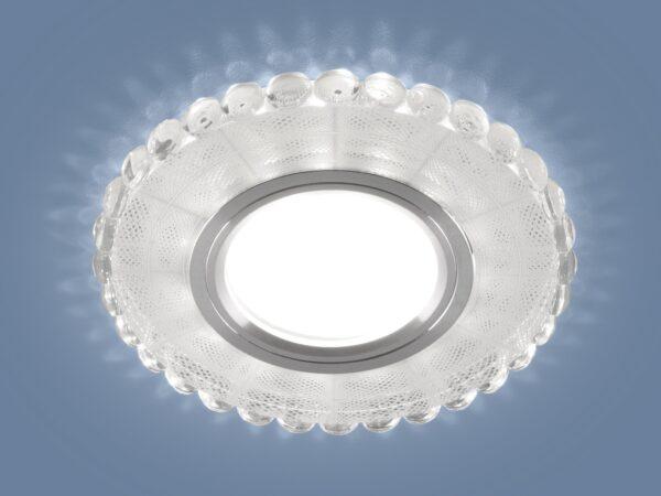 2245 MR16 / Светильник встраиваемый SL/WH зеркальный/белый
