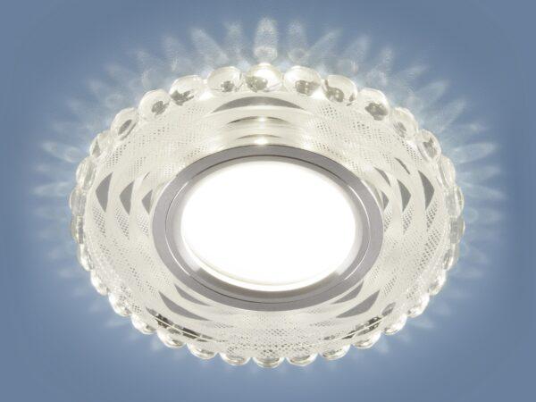 2246 MR16 / Светильник встраиваемый SL/WH зеркальный/белый