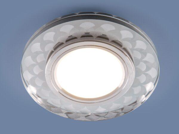 2247 MR16 / Светильник встраиваемый SL/WH зеркальный/белый
