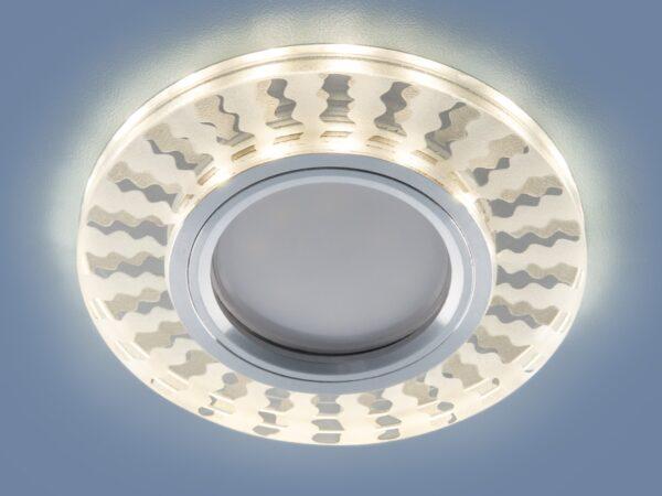 2248 MR16 / Светильник встраиваемый SL/WH зеркальный/белый