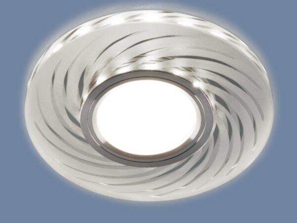 2249 MR16 / Светильник встраиваемый SL/WH зеркальный/белый