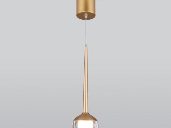 DLS028 / Светильник светодиодный стационарный 6W 4200K золото