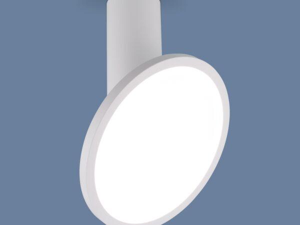 DLS029 / Светильник накладной белый матовый