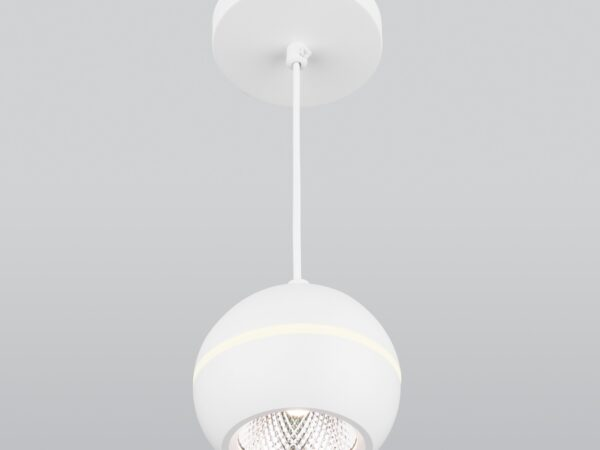DLS023 / Светильник накладной белый
