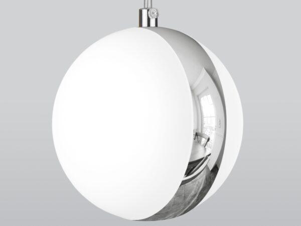 DLN050  GX53 / Светильник накладной белый/хром