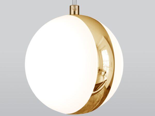 DLN050  GX53 / Светильник накладной белый/золото