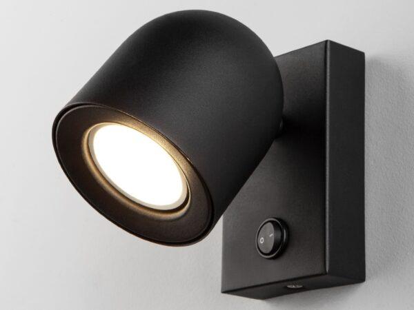 MRL 1009 / Светильник настенный  Ogma GU10 SW чёрный