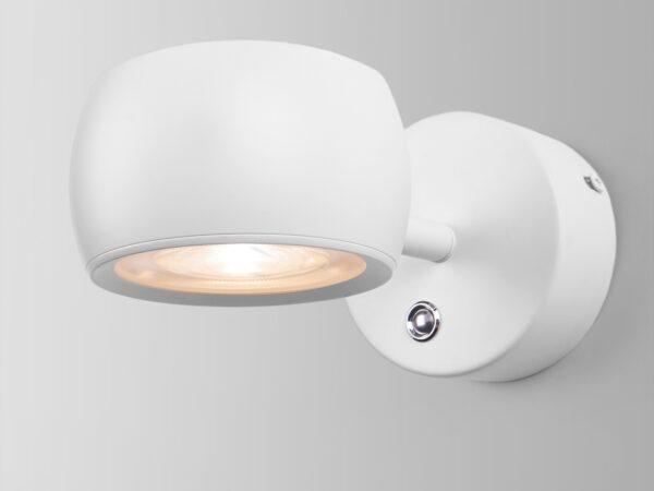 MRL LED 1018  / Светильник настенный светодиодный  Oriol белый