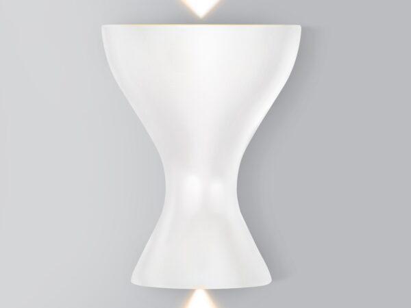 MRL LED 1021 / Светильник настенный светодиодный Eos белый