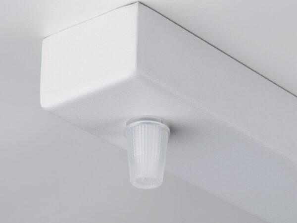 A048140 / Светильник накладной Планка для подвесных светильников белая